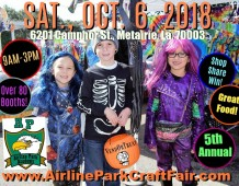 "Airline Park's 5th Annual, ""Vend or Treat""!"