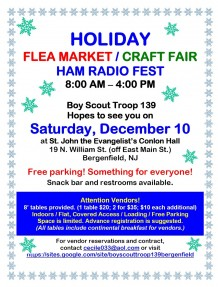HOLIDAY FLEA MARKET / CRAFT FAIR