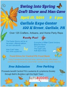 Swing into Spring Craft Show (with Man Cave)