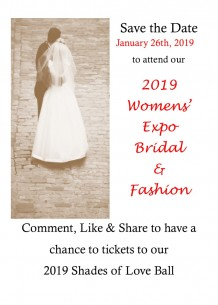 Womens' Bridal Fashion Showing with vendors