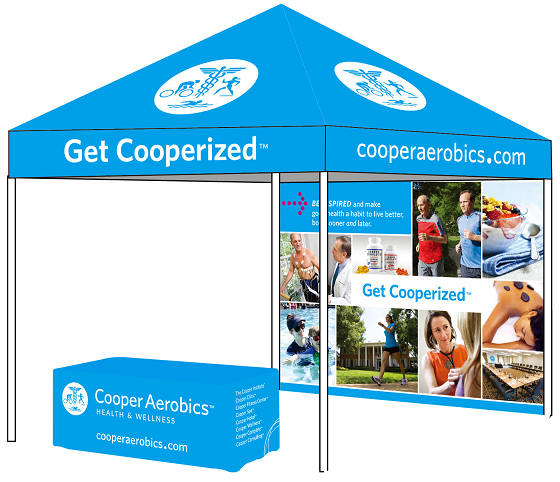 EZ Up Event Tent with Table Cover and Backwall - EZ Up Custom Graphic Tent  sc 1 st  Fairs and Festivals : tents with graphics - memphite.com