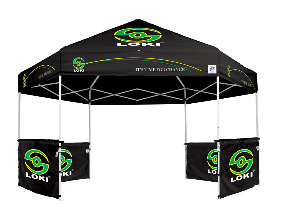 EZ Up HUB 13x13 with custom graphics directors chairs and sidewalls  sc 1 st  Fairs and Festivals & Splash Tents Inc. - Fairs and Festivals FairsandFestivals.net